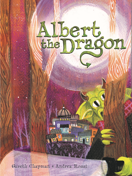 Albert the Dragon Gareth Chapman Books Dragon childrens book adventure