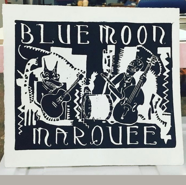 Lino Cut Design by Jazz $30
