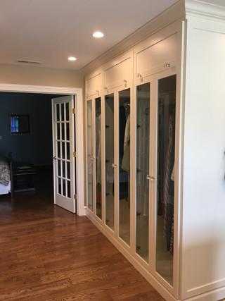 Angled Dressing Room