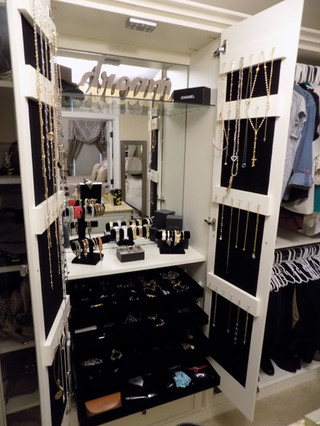 Custom Jewelry Cabinet