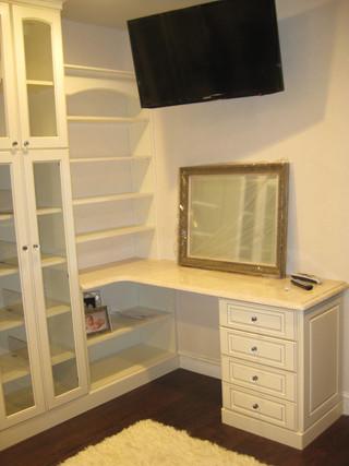 Vanity in Dressing Room