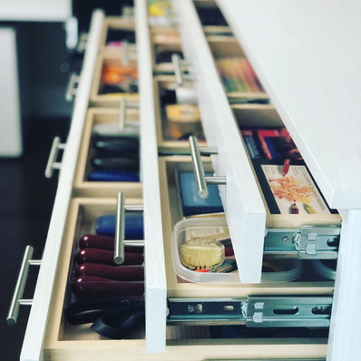craft drawers