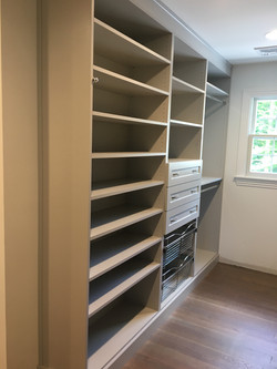 Gray Closet