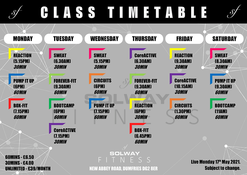 Class Timetable - Rev 4 (May 2021) [FINA
