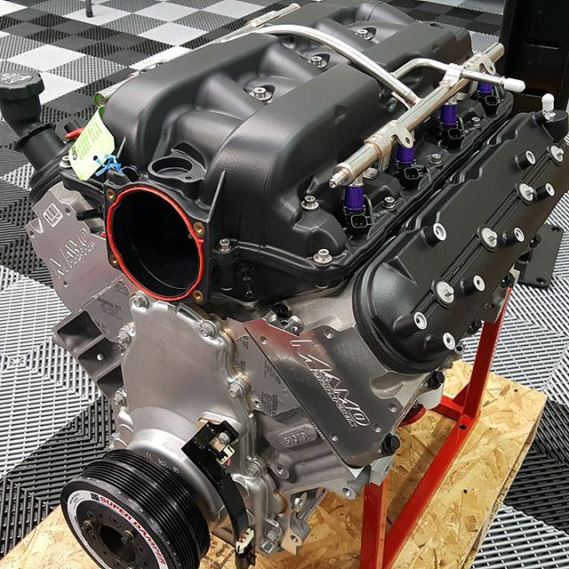 Mamo Motorsports 416 turbo build up with MMS 235 NFI heads