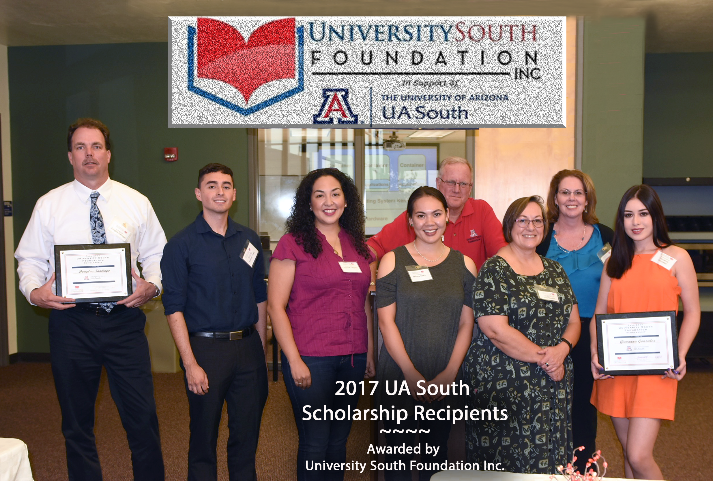 2017 Scholarship Awardees