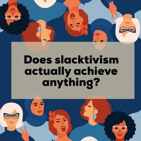 Slacktivism Springboard Article
