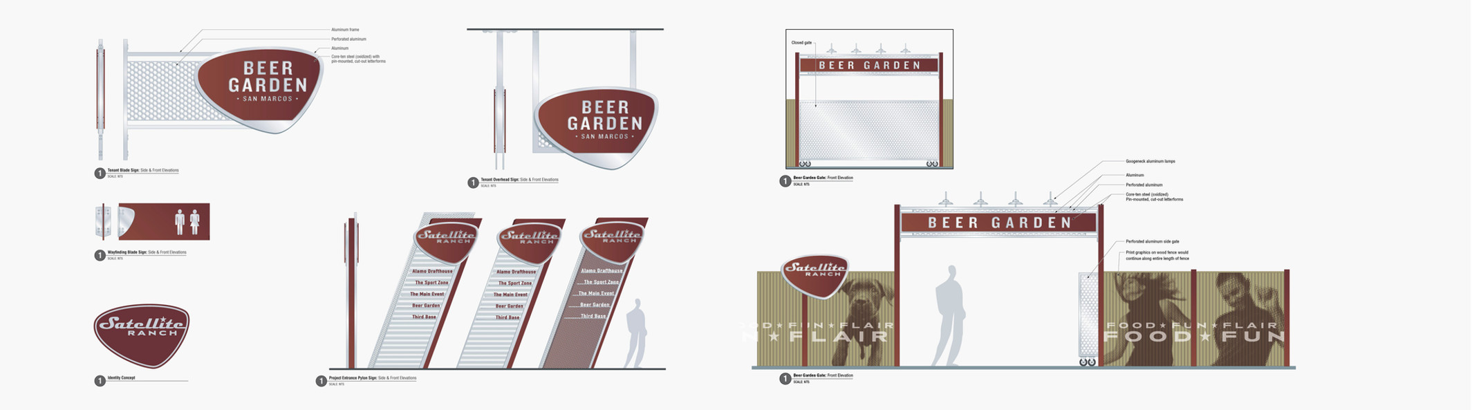 Signage and wayfinding systems.
