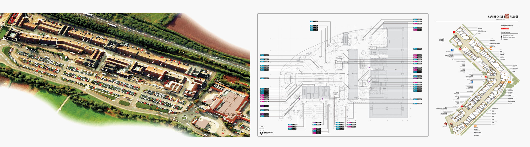 Environmental graphic systems and related deliverables.