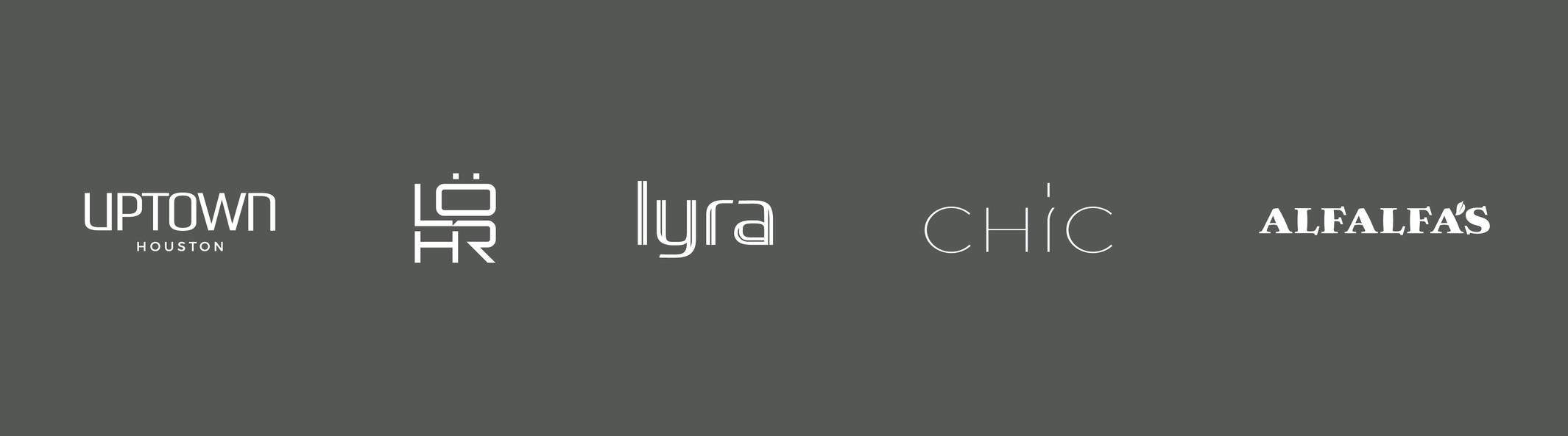 Various Logotype Service Marks