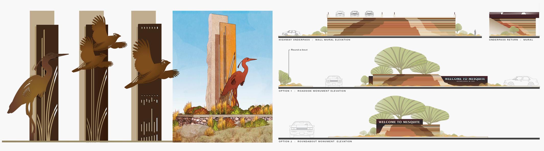 Environmentl design campaigns for public realms.