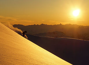 Alpenglow Skiing in Canada