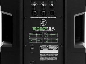 Mackie THUMP Series, 12-Inch 1300-Watt Loudspeaker with High Performance Amplifiers Built-in Mixers
