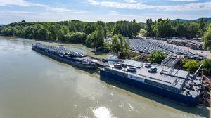 Kikötő fejlesztés - Mafracht Kft.