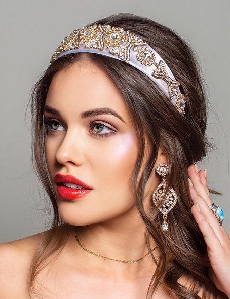 Bridal Dream - Headband & Earrings Set