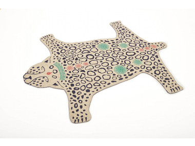Valentine Donck - tapis leopard