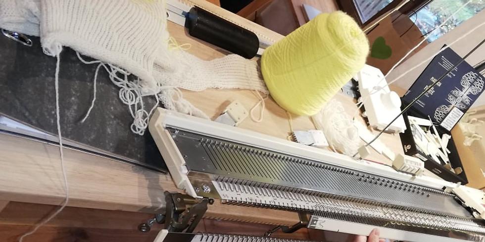 Initiation aux machines à tricoter - Du 29 juin au 3 juillet 2021
