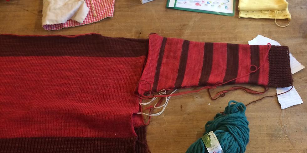 Initiation aux machines à tricoter - du 14 au 18 septembre 2020