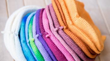 Bonnets tricotés- La Laine des Coccinell