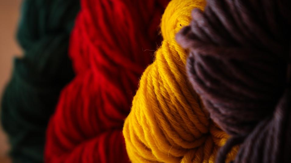 fils à tricotés - La Laine des Coccinell