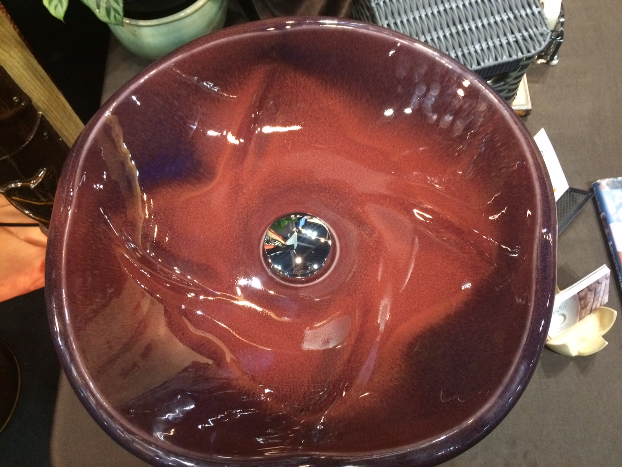 Copper Red Sink