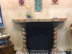 Fire Place and Tile Pic #2
