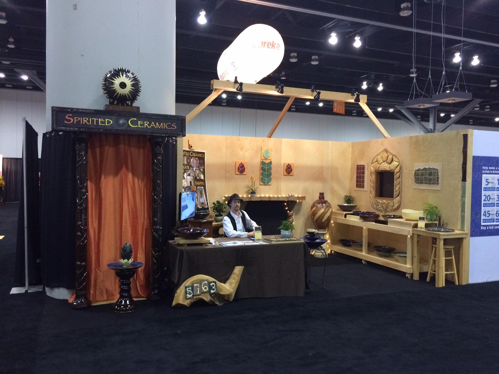 SpiritedCeramics Booth Pic #1