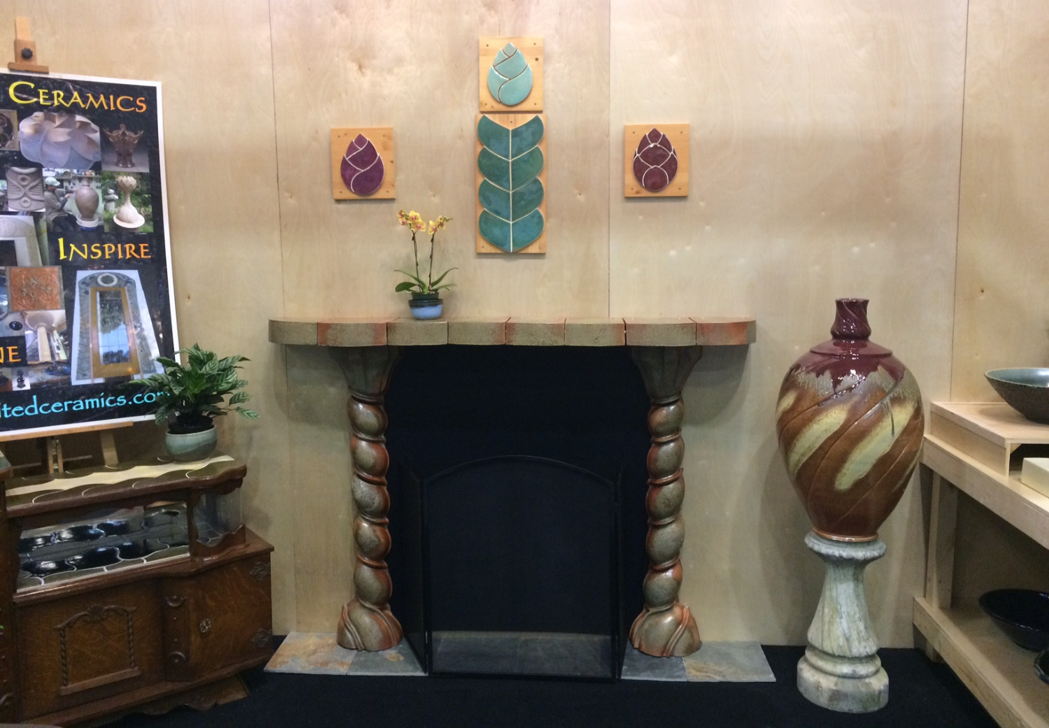 Fire Place and Tile Pic #1