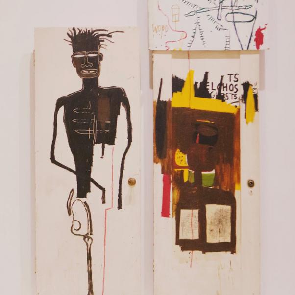 Jean-Michel Basquiat, Self Portrait, 1983