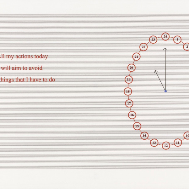 Louise Bourgeois, Untitled, no. 16 of 24 from portfolio, Hours of the Day,2006