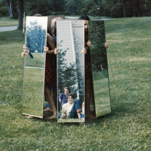 Joan Jonas, Mirror Performance I, 1969