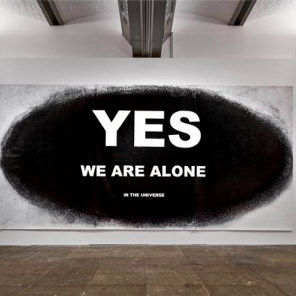Aleksandra Mir, YES We are Alone in the Universe, 2015-2017
