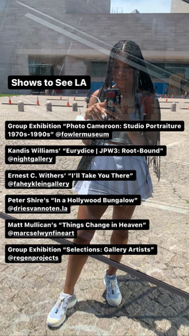 Shows to See LA: July 2, 2021