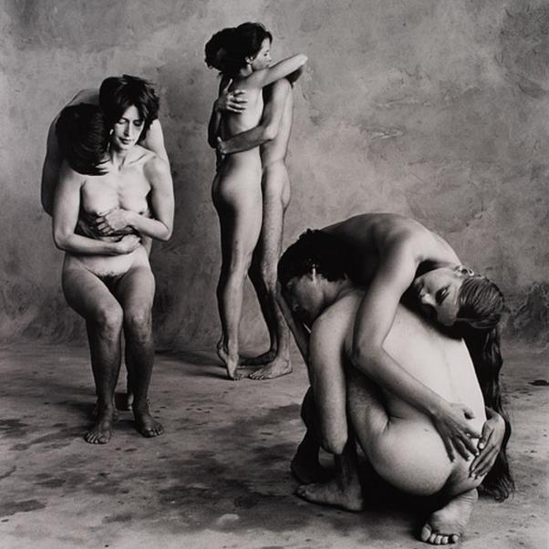Irving Penn, The Bath (O) (Dancer's Workshop of Sanfrancisco, 1967