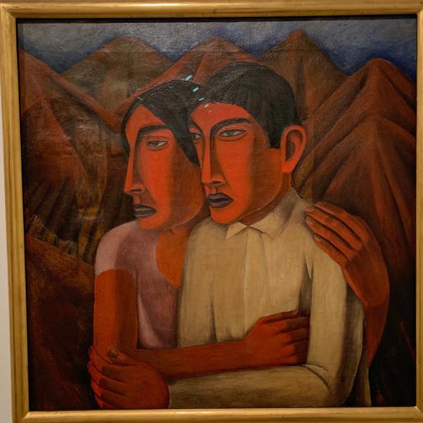 Rufino Tamayo, Man and Woman, 1926