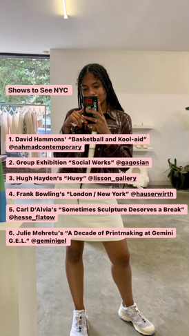 Shows to See NYC: July 3, 2021