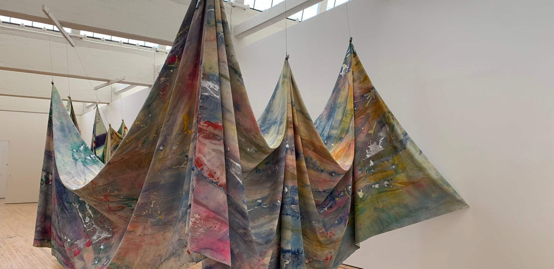 Sam Gilliam, Double Merge, 1968