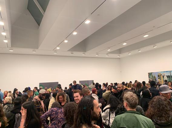 Noah Davis' Opening at David Zwiner