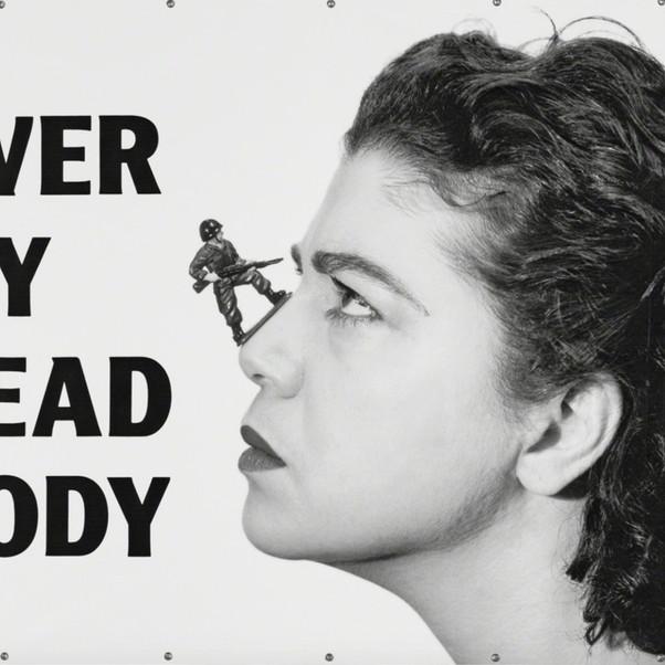 Mona Hatoum, Over My Dead Body, 1988-2002