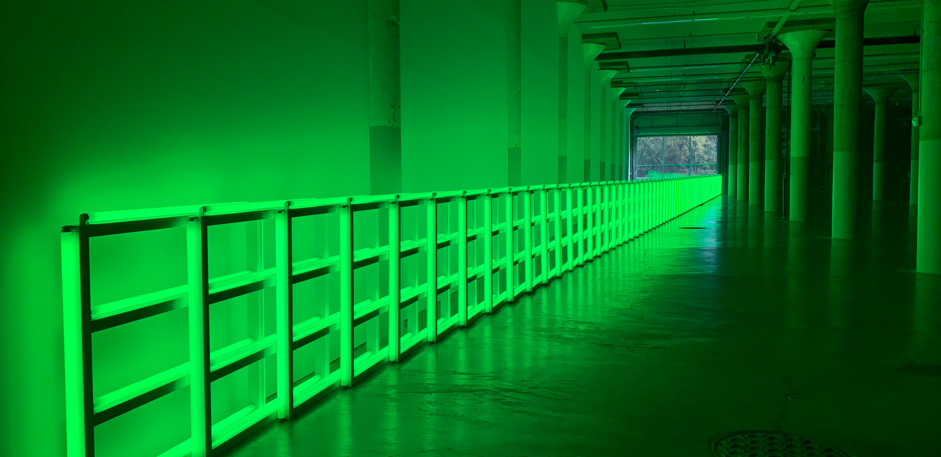 Dan Flavin, untitled (to you, Heiner, with admiration and affection), 1973