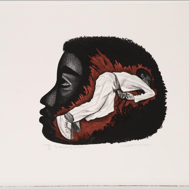 Elizabeth Catlett, The Torture of Mothers, 1970-2003