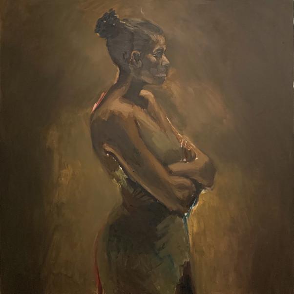Lynette Yiadom-Boakye, Godly Governance, 2013