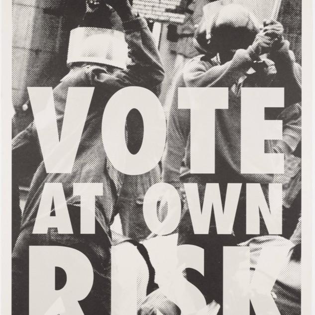 Kudzanai Chiurai, Vote at Own Risk, 2009