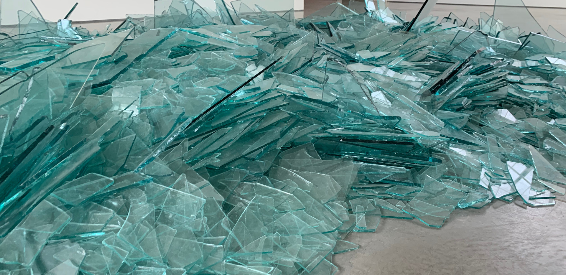 Robert Smithson, Map of Broken Glass (Atlantis), 1969