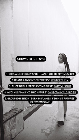 SHOWS TO SEE NYC: JUNE 11, 2021