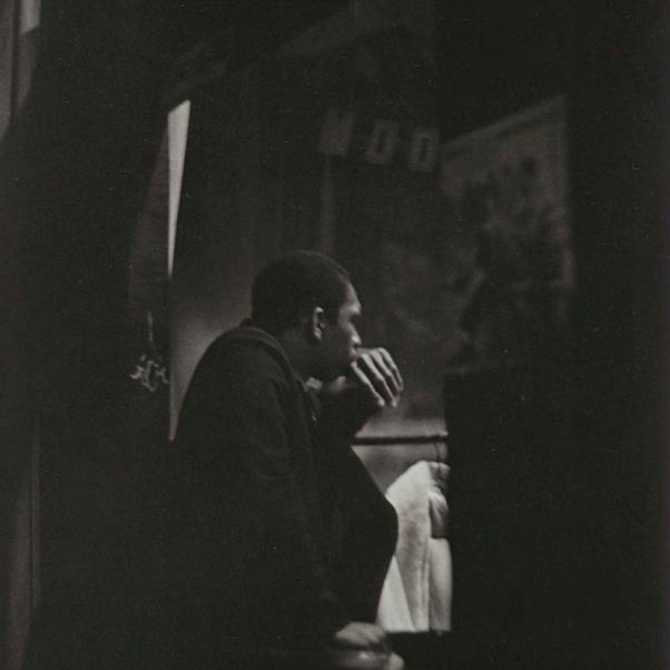 Roy DeCarava, Coltrane, Half Note, 1960
