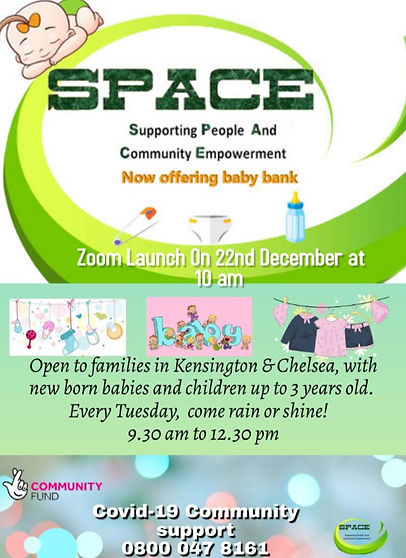 SPACE Baby Bank Launch