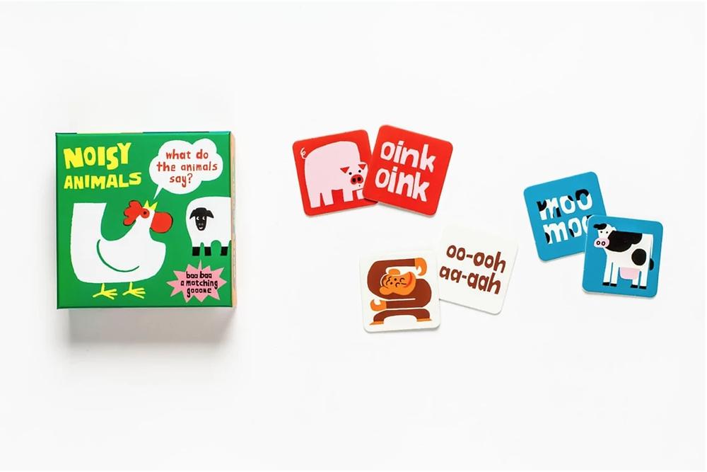 Me Books Store Flashcards Noisy Animals