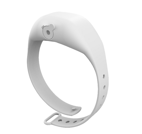 White Adjustable SqueezyBand