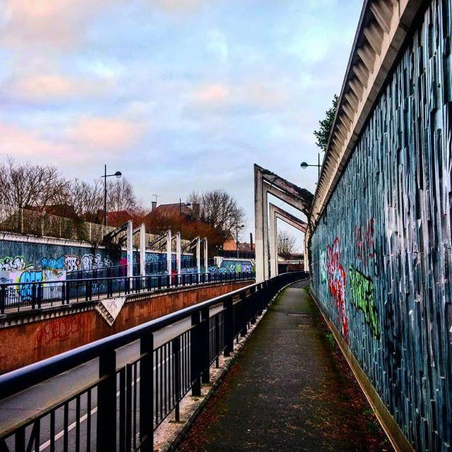 Graffiti Walls and Path